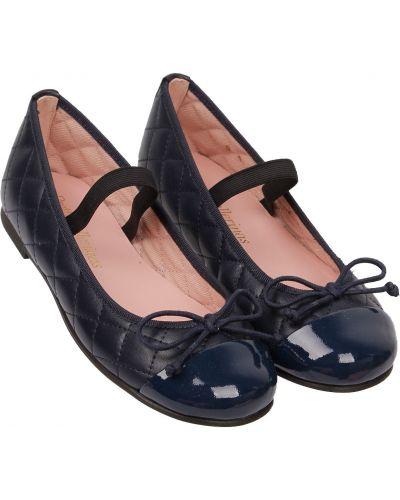 Синие туфли Pretty Ballerinas