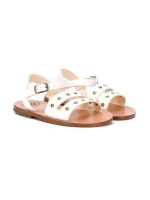 Белые сандалии Pèpè