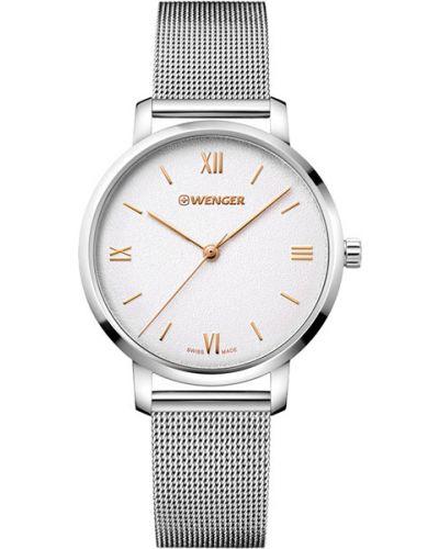 Кварцевые часы водонепроницаемые Wenger
