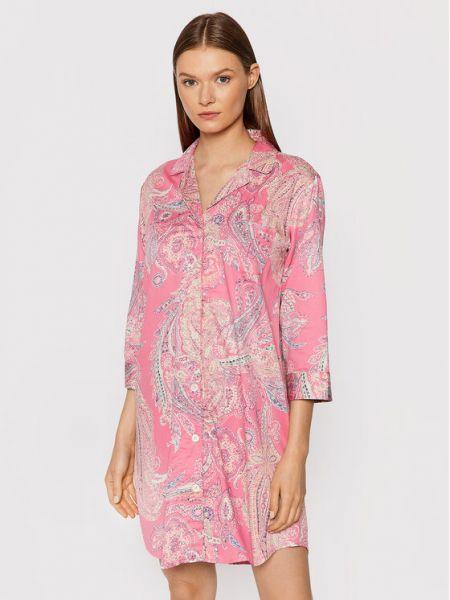 Koszula nocna - różowa Lauren Ralph Lauren