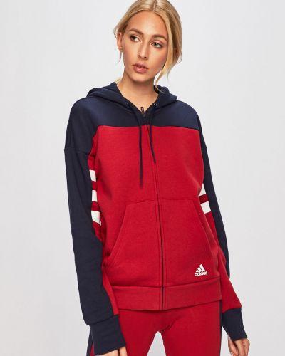 Кофта с карманами с капюшоном Adidas Performance