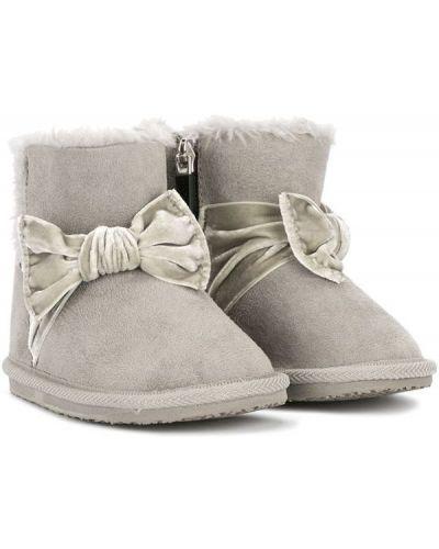 Угги для обуви серый Miki House
