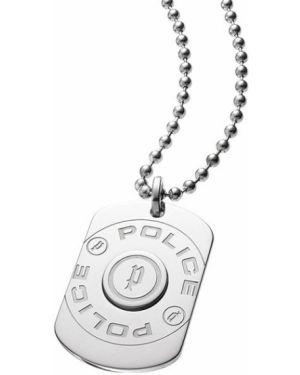 Медальон с подвесками серебряный Police