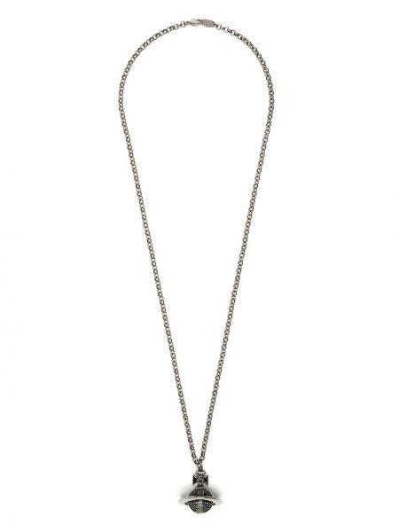 Naszyjnik łańcuch srebrny Vivienne Westwood