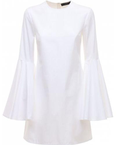 Biała sukienka mini rozkloszowana Ellery