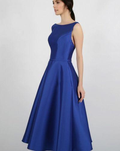 Вечернее платье синее Miodress