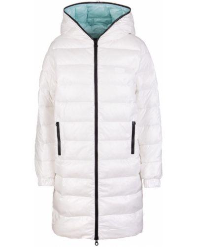 Biały płaszcz Duvetica