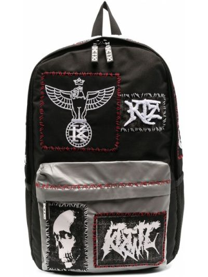 Czarny plecak Ktz