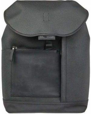 Plecak na laptopa - czarny Strellson