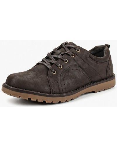 Коричневые ботинки осенние Tesoro
