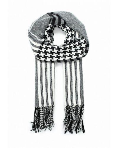 Черный шарф Piazza Italia