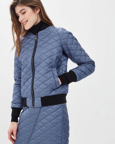 Утепленная куртка - синяя Glam Goddess