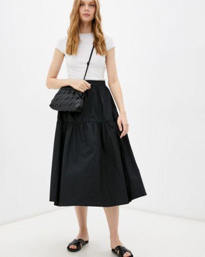 Черная юбка осенняя Lorani