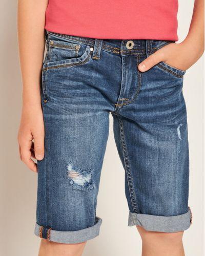 Szorty jeansowe - granatowe Pepe Jeans