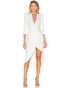 Biała sukienka midi Zhivago