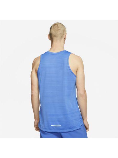 Koszula bez rękawów niebieski Nike