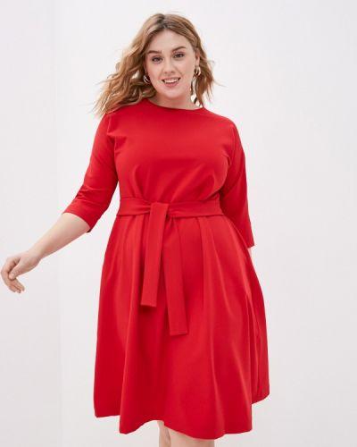 Повседневное красное платье Base Forms
