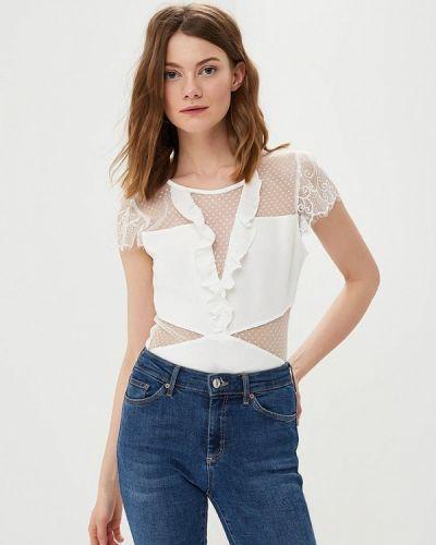Белое боди блуза Moni&co
