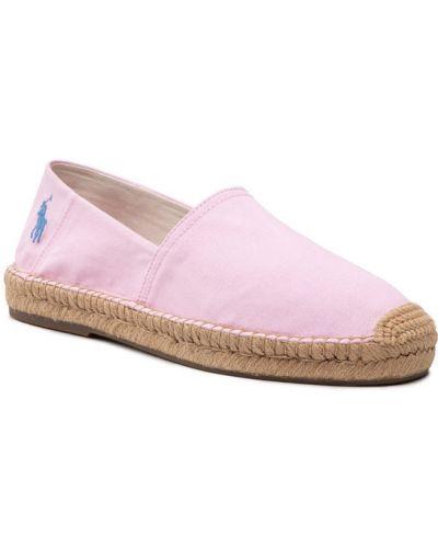Espadryle - różowe Polo Ralph Lauren