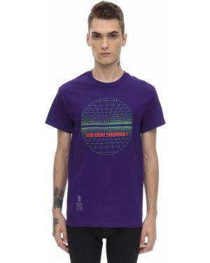 Fioletowy t-shirt bawełniany Darkoveli
