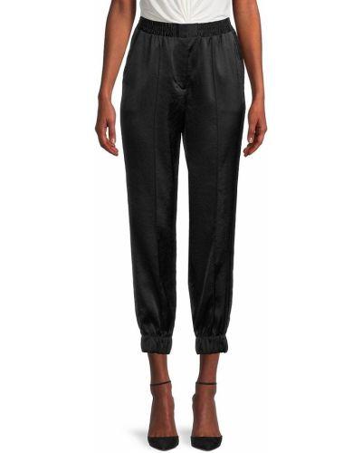 Satynowe spodnie - czarne Bailey 44