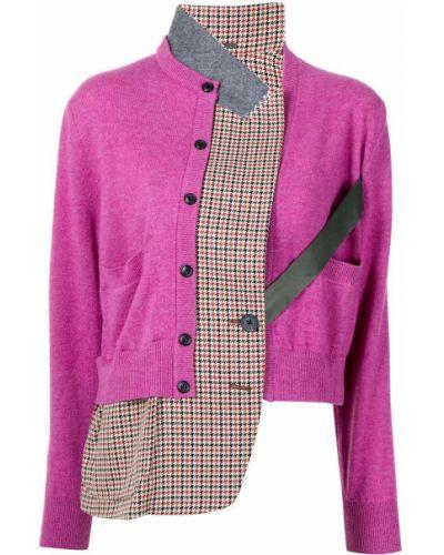 Розовая куртка с манжетами Kolor
