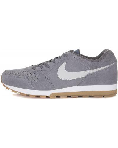 Кроссовки беговые замшевые на шнуровке Nike