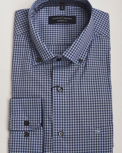 Хлопковая рубашка с длинными рукавами Casa Moda