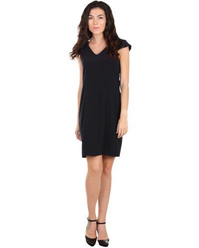 Черное платье из вискозы без застежки Byblos