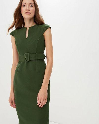 Зеленое платье футляр Dorothy Perkins