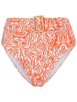 Pomarańczowy bikini vintage Alexandra Miro