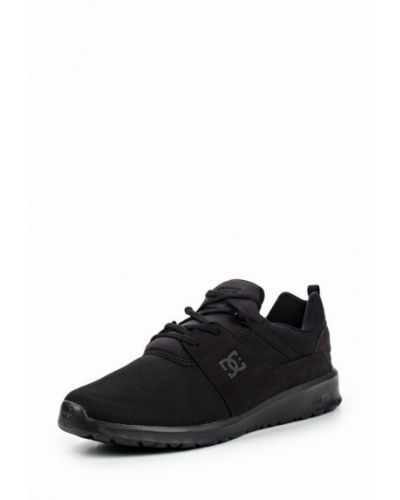 Текстильные кроссовки - черные Dc Shoes