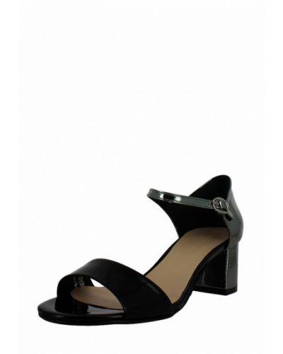 Черные босоножки на каблуке Gianni Famoso
