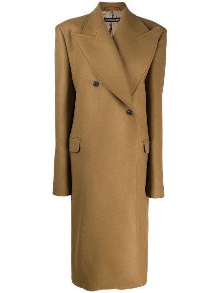 Длинное пальто с капюшоном Y/project