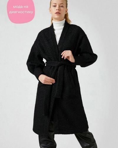 Черное пальто Koton