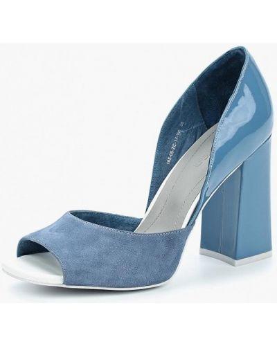 Туфли на каблуке велюровые Calipso