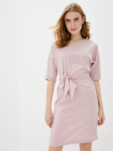 Платье розовое прямое Gabriela