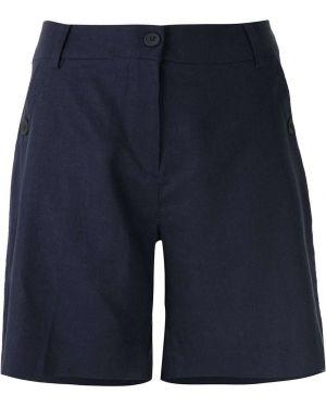 Однобортные шорты с карманами на пуговицах Mara Mac