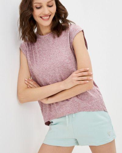 Розовая футболка с короткими рукавами W.sharvel
