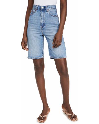 Свободные хлопковые джинсовые шорты с карманами Levi's®