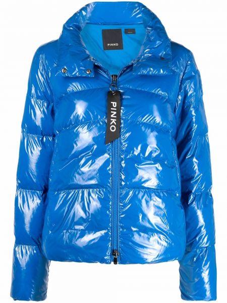 Длинная куртка - синяя Pinko