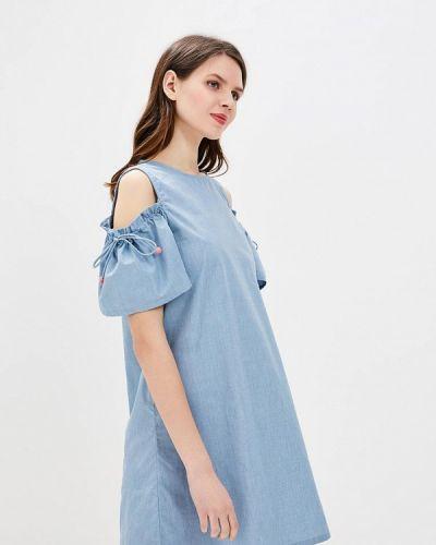 Голубое платье весеннее Brave Soul