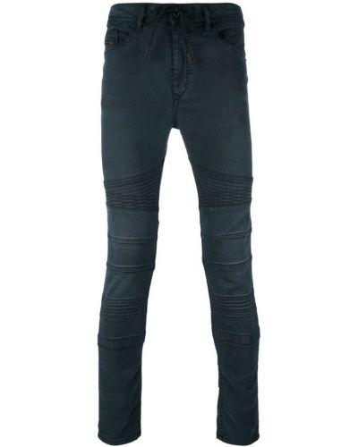 Синие джинсы эластичные Diesel