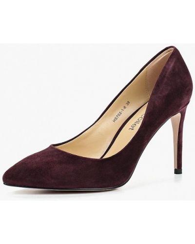 Туфли-лодочки на каблуке осенние Marie Collet
