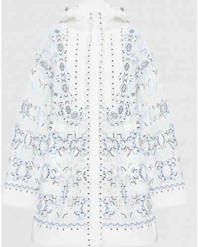 Белая куртка Ermanno Scervino