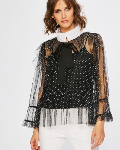 Черная блузка Silvian Heach