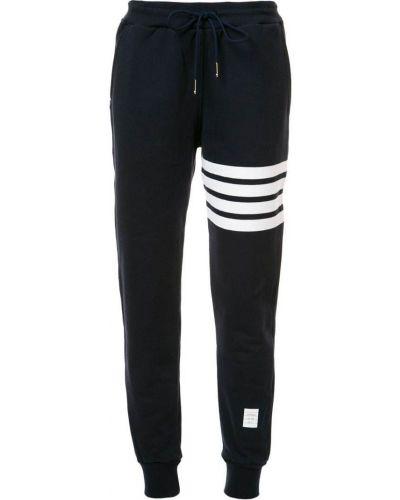 Спортивные брюки в полоску хлопковые Thom Browne