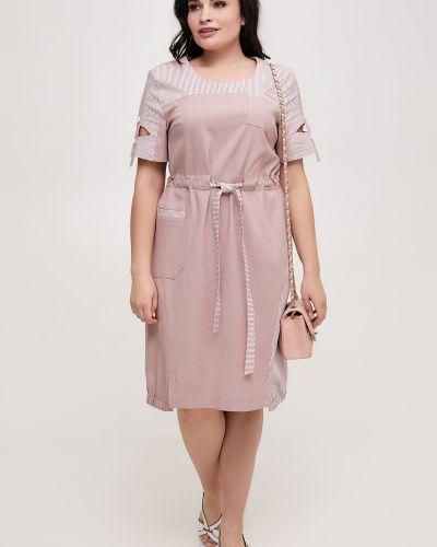 Льняное платье All Posa
