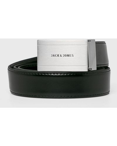 Ремень кожаный с пряжкой Jack & Jones