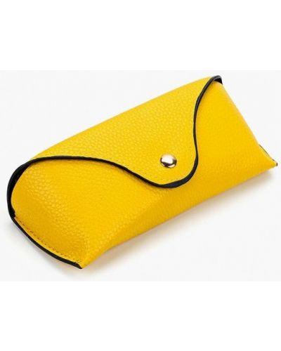 Желтый футляр для очков Zarina